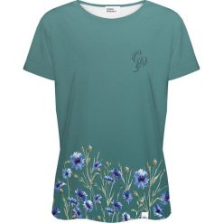 Colour Pleasure Koszulka damska CP-030 251 zielona r. XL/XXL. T-shirty damskie Colour Pleasure. Za 70.35 zł.
