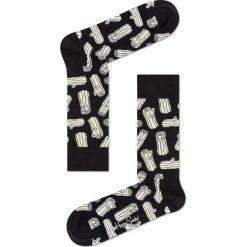 Happy Socks - Skarpety Logs. Czarne skarpety męskie Happy Socks, z bawełny. Za 39.90 zł.