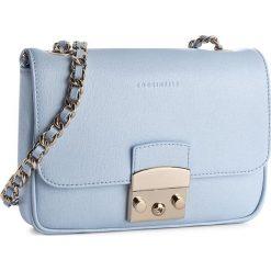 Torebka COCCINELLE - YM5 Margo Chain C1 YM5 12 03 01 Iris 240. Niebieskie torebki do ręki damskie Coccinelle, ze skóry. W wyprzedaży za 649.00 zł.