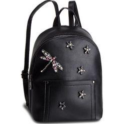 Plecak NOBO - NBAG-F1430-C020 Czarny. Czarne plecaki damskie Nobo, ze skóry ekologicznej, klasyczne. W wyprzedaży za 179.00 zł.