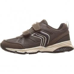 """Sneakersy """"Bernie"""" w kolorze szaro-czarnym. Czarne trampki i tenisówki chłopięce Geox Kids, z gumy. W wyprzedaży za 125.95 zł."""