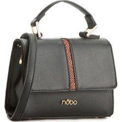 Torebka NOBO - NBAG-C1000-C005 Czarny. Czarne torebki do ręki damskie Nobo, ze skóry ekologicznej. W wyprzedaży za 129.00 zł.