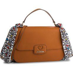 Torebka LOVE MOSCHINO - JC4250PP05KF0200 Cuoio. Brązowe torebki do ręki damskie Love Moschino, ze skóry ekologicznej. W wyprzedaży za 529.00 zł.