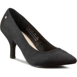 Szpilki PEPE JEANS - Megan Micro PLS10153  Black 999. Czarne szpilki damskie Pepe Jeans, z jeansu. W wyprzedaży za 139.00 zł.