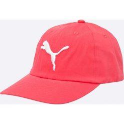 Puma - Czapka. Czerwone czapki i kapelusze damskie Puma, z bawełny. W wyprzedaży za 49.90 zł.