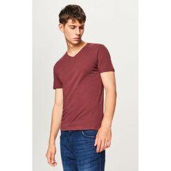 Gładki t-shirt - Czerwony - 2
