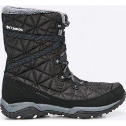 Columbia - Śniegowce Loveland Mid. Czarne śniegowce i trapery damskie Columbia, z gumy. W wyprzedaży za 399.90 zł.