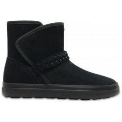 Crocs Buty Zimowe Lodgepoint Suede 39.5. Brązowe obuwie sportowe damskie Crocs, z gumy. W wyprzedaży za 279.00 zł.