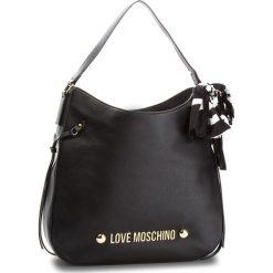 Torebka LOVE MOSCHINO - JC4311PP06KU0000  Nero. Czarne torebki do ręki damskie Love Moschino, ze skóry ekologicznej. W wyprzedaży za 619.00 zł.