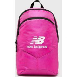 New Balance - Plecak. Różowe plecaki damskie New Balance, z poliesteru. Za 99.90 zł.
