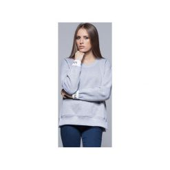 Bawełniana bluza szara H008. Czarne bluzy damskie Harmony, z bawełny. Za 175.00 zł.