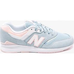 New Balance - Buty WL697PTU. Szare obuwie sportowe damskie New Balance, z materiału. W wyprzedaży za 359.90 zł.