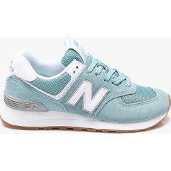 New Balance - Buty WL574ESY. Szare obuwie sportowe damskie New Balance, z gumy. W wyprzedaży za 299.90 zł.