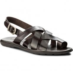 Sandały GINO ROSSI - Sao MN2566-TWO-BG00-3700-X 92. Brązowe sandały męskie Gino Rossi, ze skóry. W wyprzedaży za 159.00 zł.