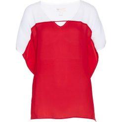 Tunika bonprix czerwono-biel wełny. Czerwone tuniki damskie bonprix, z wełny. Za 37.99 zł.