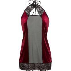Koszulka nocna bonprix czarno-ciemnoczerwony. Koszule nocne damskie marki MAKE ME BIO. Za 59.99 zł.
