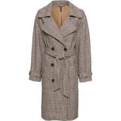 Płaszcz w kratę bonprix brązowy w kratę. Płaszcze damskie marki FOUGANZA. Za 109.99 zł.