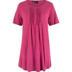 T-shirt o linii litery A bonprix jeżynowo-czerwony. T-shirty damskie marki DOMYOS. Za 44.99 zł.