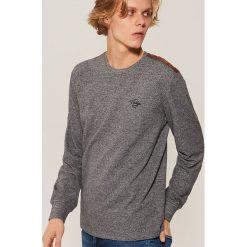 Koszulka z długim rękawem - Szary. Szare bluzki z długim rękawem męskie House. Za 59.99 zł.