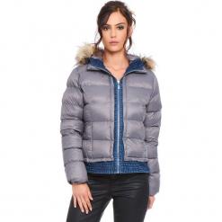 """Kurtka """"Elsa"""" w kolorze szarym. Szare kurtki damskie Cosy Winter, na zimę. W wyprzedaży za 227.95 zł."""