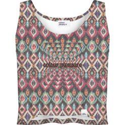 Colour Pleasure Koszulka damska CP-035 263 grafitowo- różowa r. XXXL-XXXXL. Bluzki damskie Colour Pleasure. Za 64.14 zł.