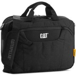 Torba CATERPILLAR - Laptop Messenger 83477 Black 01. Czarne torby na laptopa męskie Caterpillar, z materiału. W wyprzedaży za 179.00 zł.