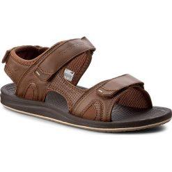 Sandały NEW BALANCE - M2080BR Brown. Brązowe sandały męskie New Balance, z materiału. W wyprzedaży za 169.00 zł.