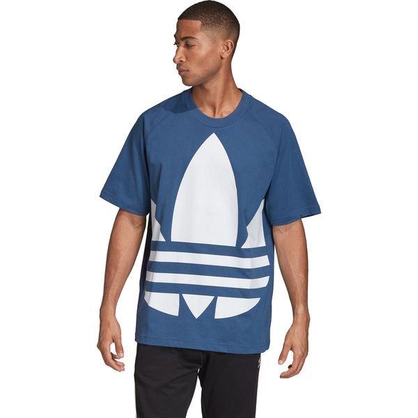 adidas Originals Big Trefoil Koszulka Niebieski