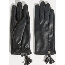 Rękawiczki z pluszową podszewką - Czarny. Czarne rękawiczki damskie Sinsay. Za 29.99 zł.