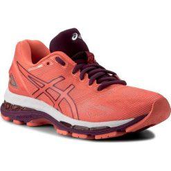 Buty ASICS - Gel-Nimbus 19 T750N Flash Coral/Dark Purple/White 0632. Brązowe obuwie sportowe damskie Asics, z materiału. W wyprzedaży za 509.00 zł.