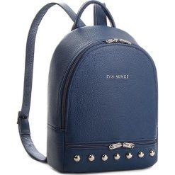 Plecak EVA MINGE - Aleta 2D 17NN1372259EF  107. Niebieskie plecaki damskie Eva Minge, ze skóry. W wyprzedaży za 379.00 zł.
