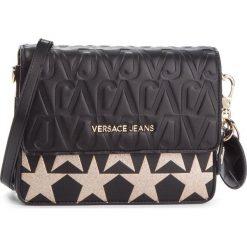 Torebka VERSACE JEANS - E1VSBBH1 70782 M27. Czarne listonoszki damskie Versace Jeans, z jeansu. Za 749.00 zł.