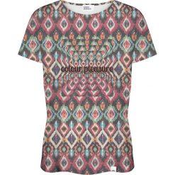 Colour Pleasure Koszulka damska CP-030 263 zielono-fioletowa r. M/L. T-shirty damskie Colour Pleasure. Za 70.35 zł.