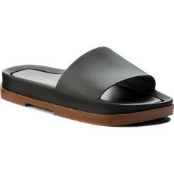 Klapki MELISSA - Beach Slide Platform A 32350 Brown/Black 51620. Czarne klapki damskie Melissa, z materiału. W wyprzedaży za 249.00 zł.