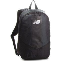 Plecak NEW BALANCE - NTBMBPK7 Black/White. Czarne plecaki damskie New Balance, z materiału, sportowe. Za 69.99 zł.