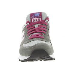 New Balance - Buty. Szare obuwie sportowe damskie New Balance, z materiału. W wyprzedaży za 229.90 zł.