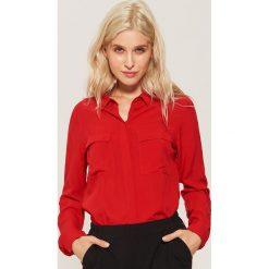 Gładka koszula - Czerwony. Czerwone koszule damskie House. Za 59.99 zł.