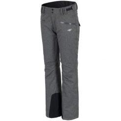 4F Damskie Spodnie Narciarskie H4Z17 spdn002 Ciemny Szary Melanż L. Szare spodnie snowboardowe damskie 4f, melanż, eleganckie. W wyprzedaży za 190.00 zł.