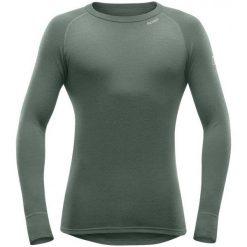 Devold Męska Koszulka Expedition Man Shirt, Forest, M. Szare koszulki sportowe męskie Devold, z wełny, z długim rękawem. Za 299.00 zł.