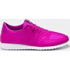 New Balance - Buty. Różowe obuwie sportowe damskie New Balance, z gumy. W wyprzedaży za 179.90 zł.