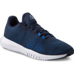 Buty Reebok - Flexagon CN2595 Navy/Blue/Wht/Blue. Niebieskie buty sportowe męskie Reebok, z materiału. W wyprzedaży za 269.00 zł.
