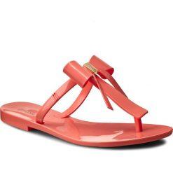 Japonki MELISSA - T Bar V Ad 31926 Pink 01417. Czerwone klapki damskie Melissa, z materiału. W wyprzedaży za 159.00 zł.