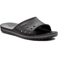Klapki CROCS - Crocband II Slide 204108 Black/Graphite. Czarne klapki damskie Crocs, z tworzywa sztucznego. Za 129.00 zł.