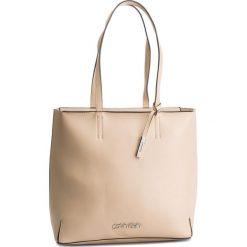 Torebka CALVIN KLEIN - Stitch Ew Shopper K60K604844 638. Brązowe torebki shopper damskie Calvin Klein, ze skóry ekologicznej. Za 599.00 zł.