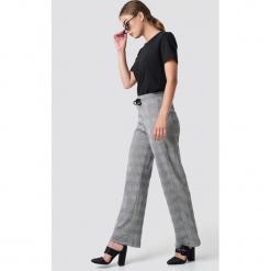Moves Spodnie Niabi - Grey. Szare spodnie materiałowe damskie Moves. Za 202.95 zł.