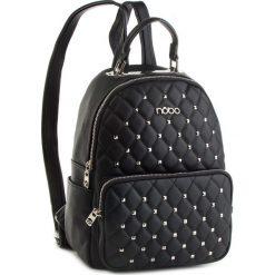 Plecak NOBO - NBAG-F1940-C020 Czarny. Czarne plecaki damskie Nobo, ze skóry ekologicznej. W wyprzedaży za 169.00 zł.