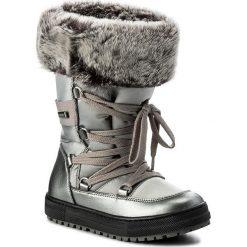 Śniegowce NATURINO - Avila 0013501193.02.9111 Acciaio S. Śniegowce dziewczęce Naturino, z materiału. W wyprzedaży za 339.00 zł.