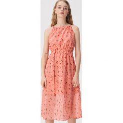 91cefe4f6a Czerwona sukienka na ramiączkach - Wielobarwny. Sukienki damskie marki  Sinsay. Za 79.99 zł.