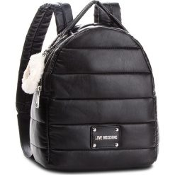 Plecak LOVE MOSCHINO - JC4256PP06KH0000  Nero. Czarne plecaki damskie Love Moschino, ze skóry ekologicznej, klasyczne. Za 929.00 zł.