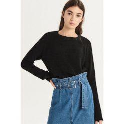 Luźny sweter - Czarny. Czarne swetry damskie Sinsay. Za 49.99 zł.